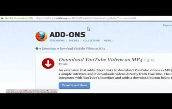 Скачать видео с ютуба Firefox – инструкция для пользователей